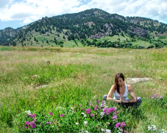 Malasana, Garland Pose, Chatauqua, Boulder, CO