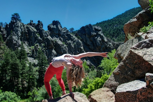 Camatkarasana, Wild Thing, Boulder Creek, Boulder, CO