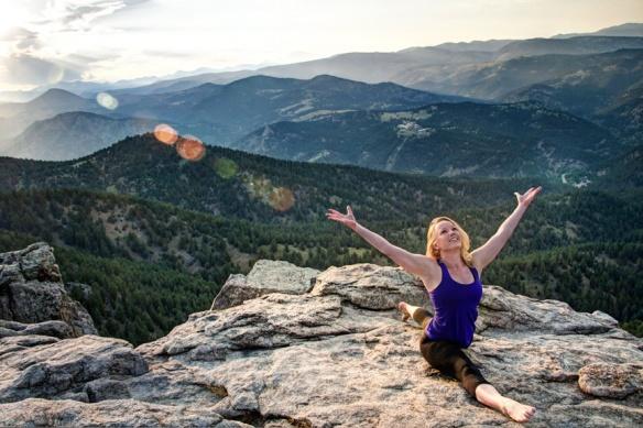 Hanumanasana, Divine Monkey Pose, Lost Gulch, Boulder, CO