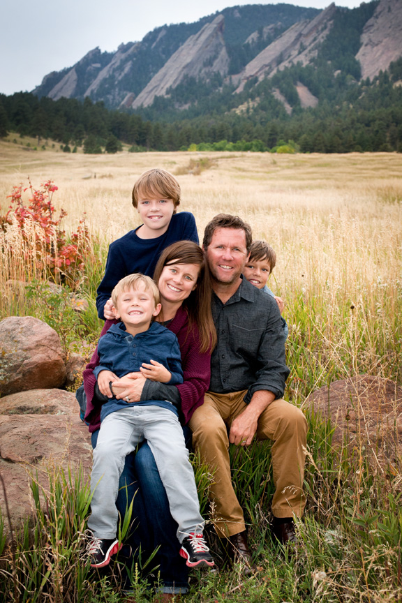 Family Portraits, Boulder, Colorado, Julie Kruger Photography