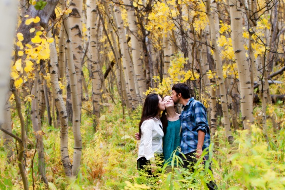 Family Portraits, Aspen, Maroon Bells, Colorado, Julie Kruger Photography